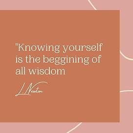 Quote blush pink neutral modern minimal.