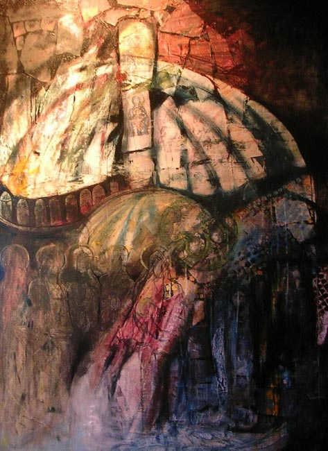 Hagia Sofia-Ayasofya, 90 x 120 cm, oil on canvas, 2008