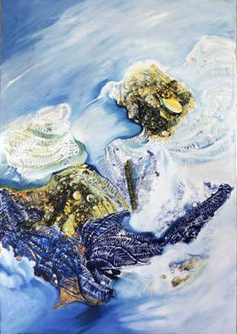 In de Metaphor of Ice, 70 x 110 cm, oil on canvas, 2010