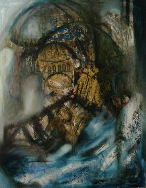 Topkapı, 70 x 90 cm, oil on canvas, 2008