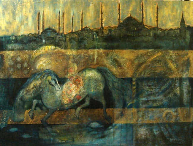Istanbul, 90 x 120 cm, oil on canvas, 2008