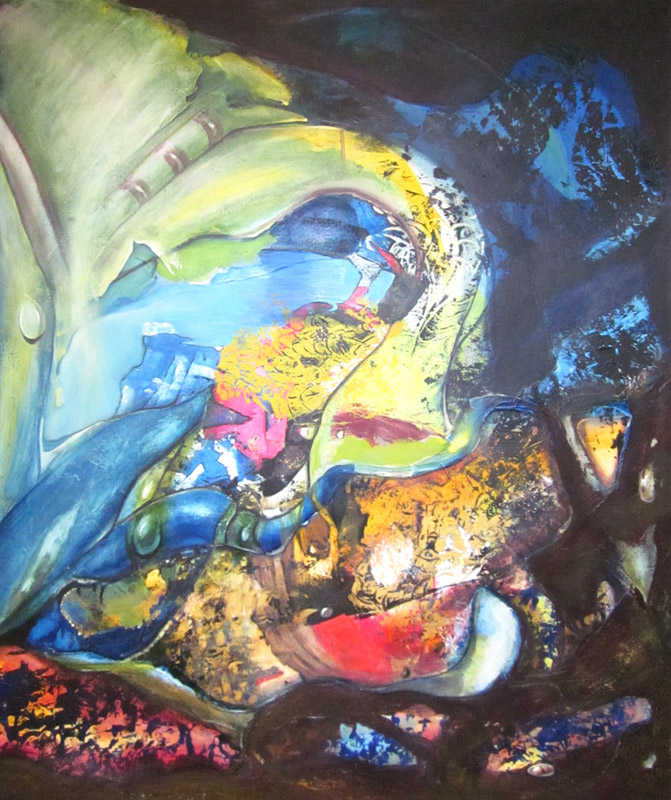 Swan, 80 x 100 cm, oil on canvas, 2010