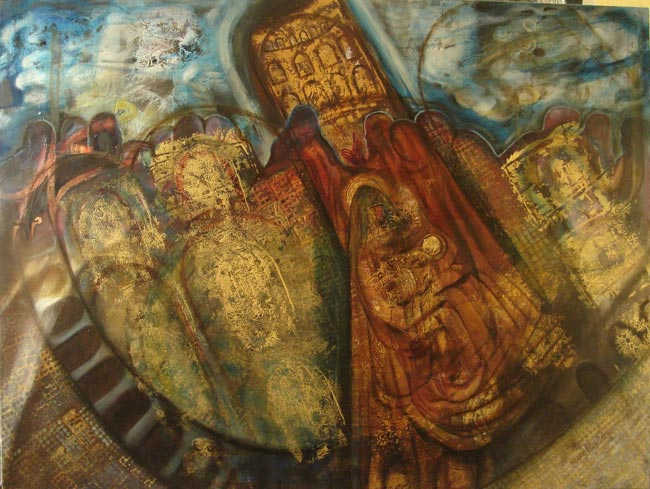 Onze Lieve Vrouw Kerk, 90 x 120 cm, 2008