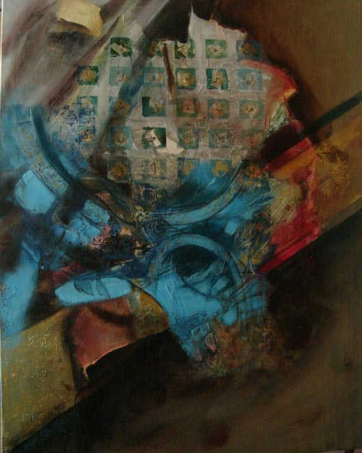 Harem,70 x 90 cm, oil on canvas, 2008