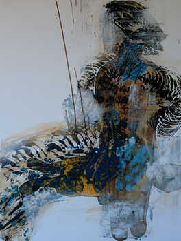 Don Quixote, 120x100cm, mix technic on canvas, 2014