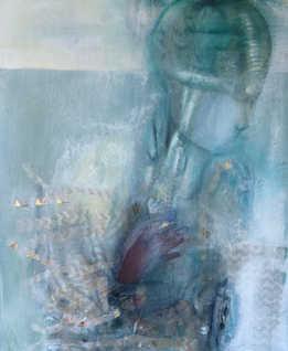Mind Diary, 80x100 cm, mixed media on canvas, 2017