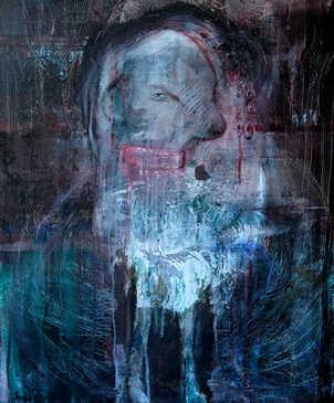 I just wanted to walk around, 70x90cm, acriyl on canvas, 2018