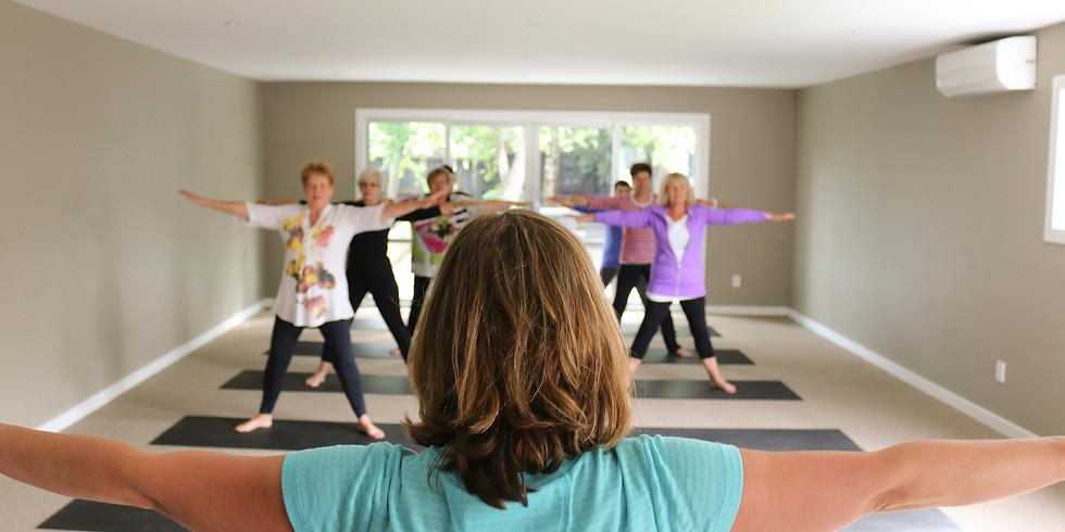 Yoga 2, Term 2  - Tuesday 5.30pm Class