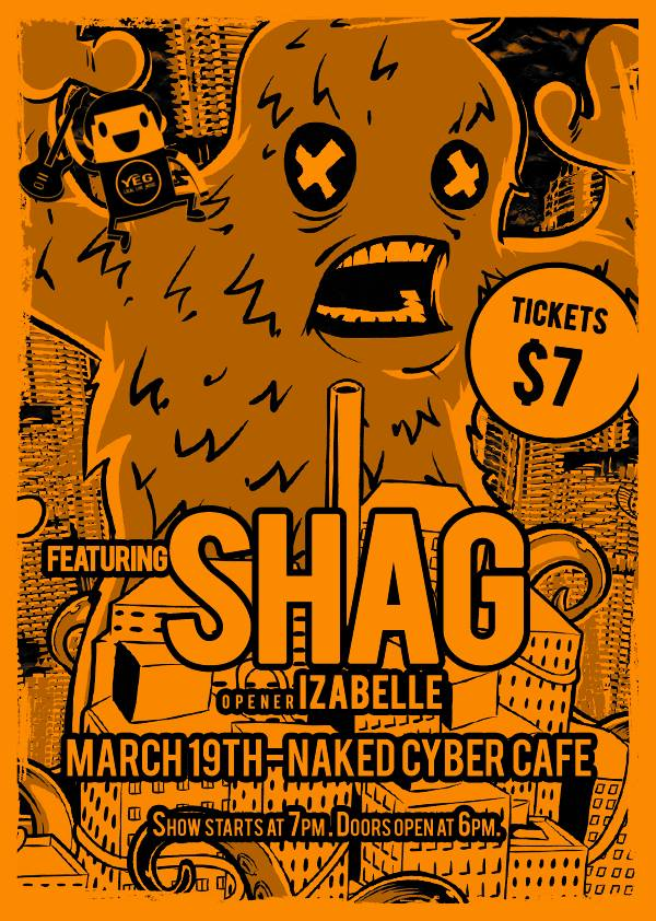 March 19, 2016 @ Naked Cyber Cafe