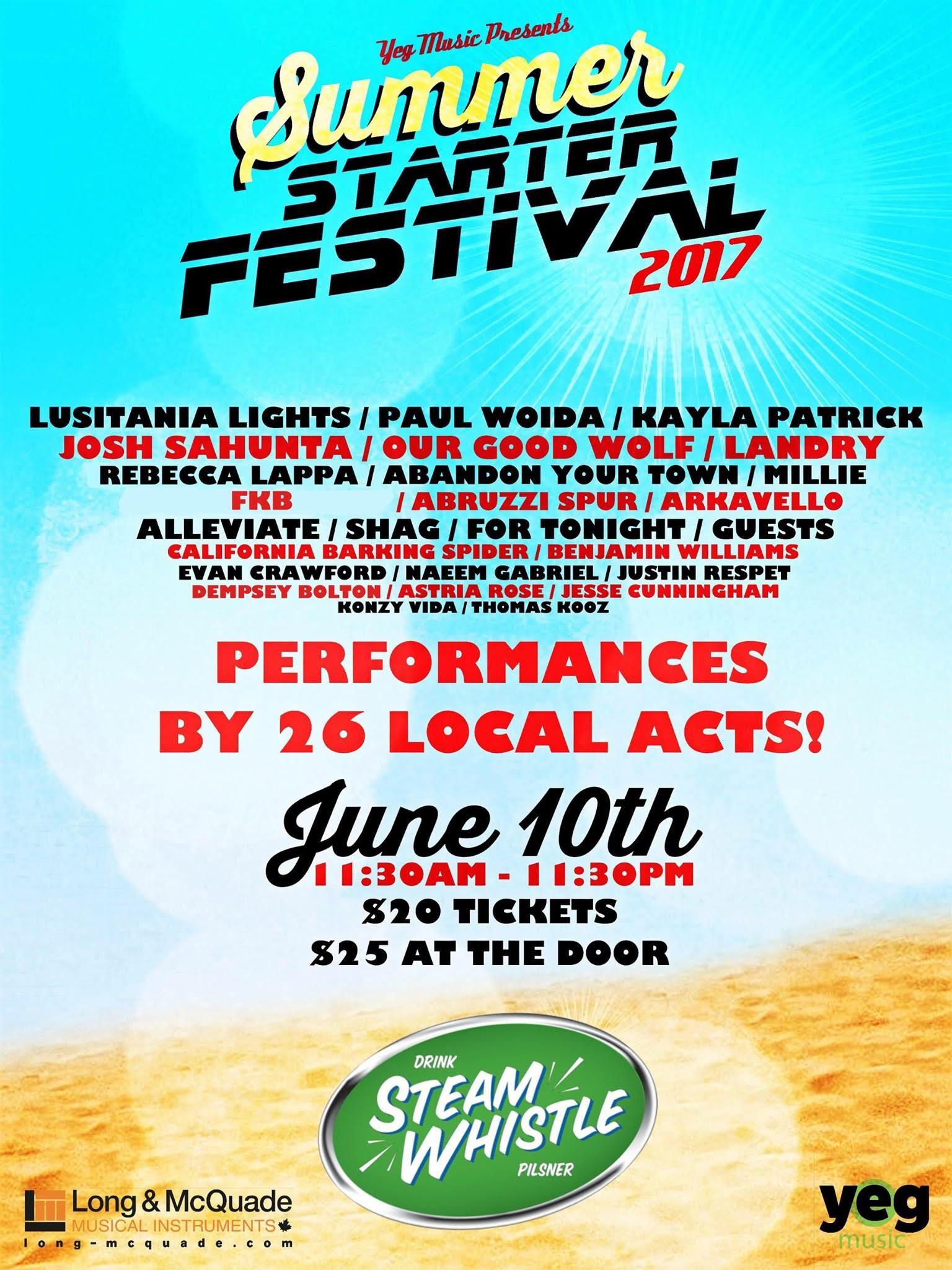 2017 Summer Starter Fest