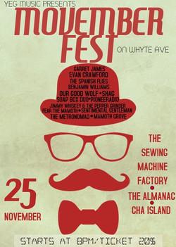 2016 Movember Fest