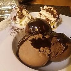 Une touche de chocolat :