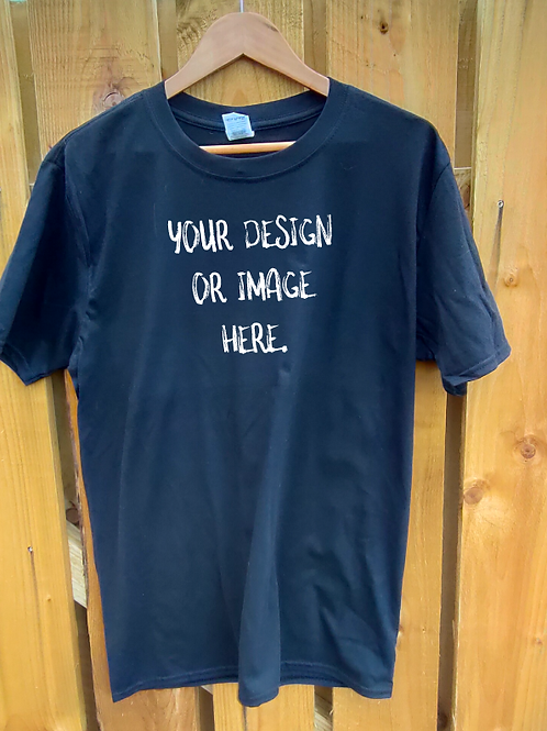 Design your own tee black