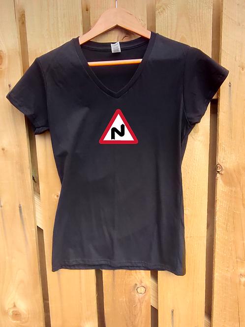 Ladies Dangerous Curves T-Shirt