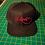 lil Devil Snapback Baseball Hat black