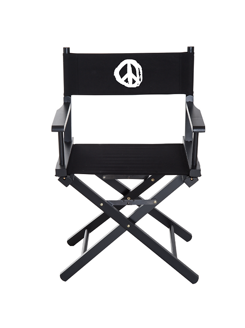 Peace Directors Chair V2 white