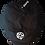 Pentagram Newsboy Cap white logo