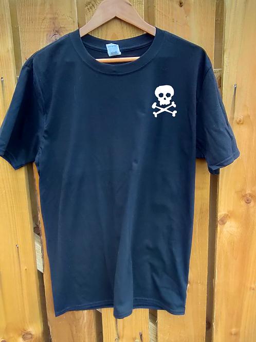 SkullnCrossbones T-Shirt black