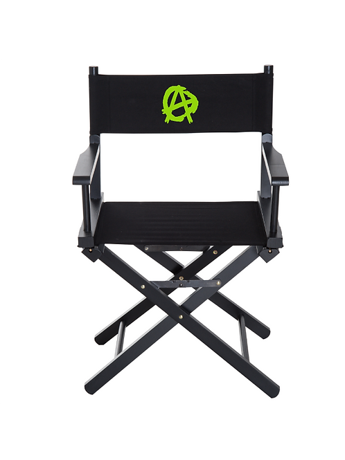 Anarchy Directors Chair lime green