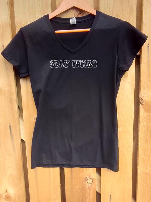 Ladies Stay Weird T-Shirt