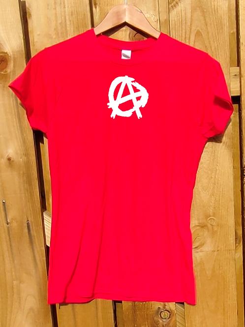 Anarchy Ladies Crew Neck T-Shirt