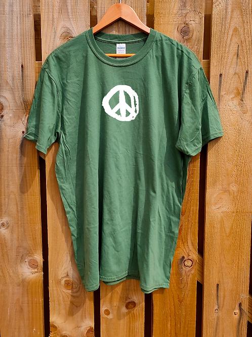 Peace T-Shirt V2 olive green