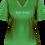 Ladies Stay Weird T-Shirt Irish Green