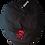 SkullnCrossbones Newsboy Cap red