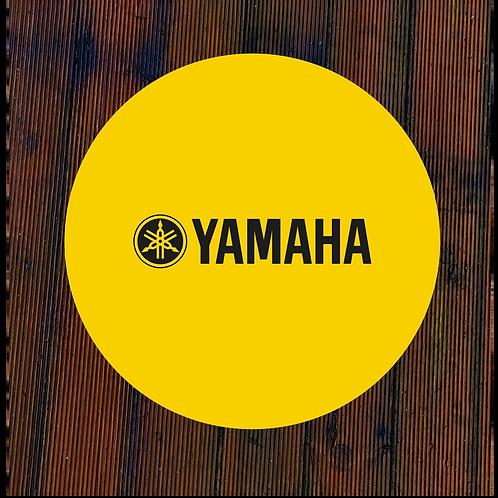 Yamaha Wall Art yellow