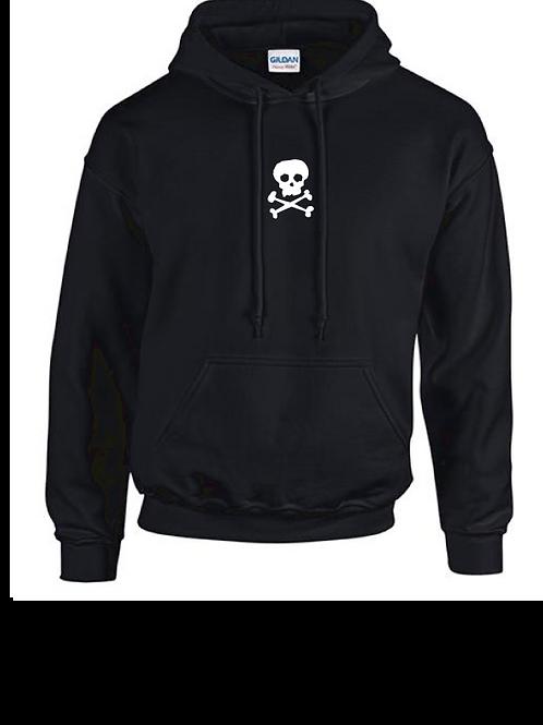 SkullnCrossBones Hoody black