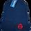 Anarchy Beanie Hat red logo