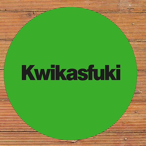 Kwikasfuki Wall Art green