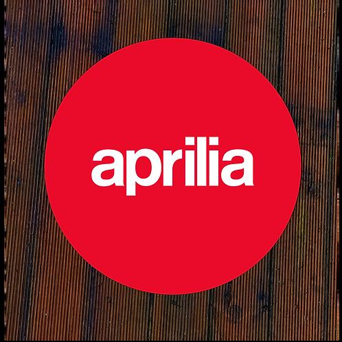 Aprilia Wall Art- red