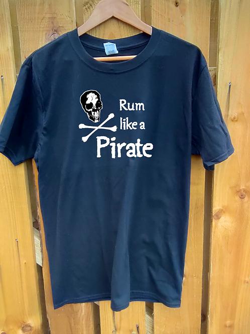 Rum like a Pirate T-Shirt