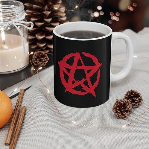 Pentagram Mug 11oz