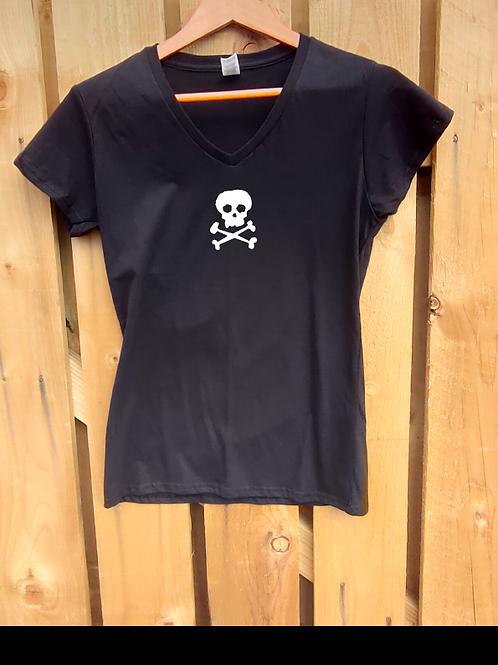 Ladies SkullnCrossbones T-Shirt