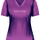 Ladies Stay Weird T-Shirt Purple