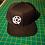 Pentagram Snapback Baseball Hat black