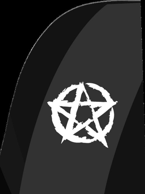 Pentagram Feather Flags