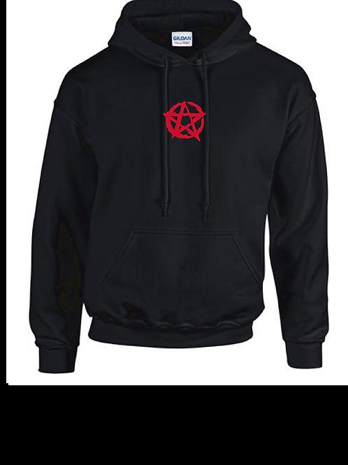 Pentagram Hoody black