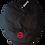 Anarchy Newsboy Cap red logo