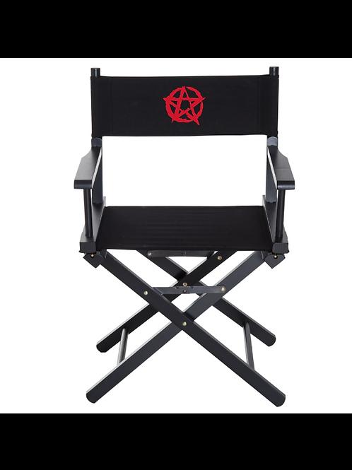 Pentagram Directors Chair red