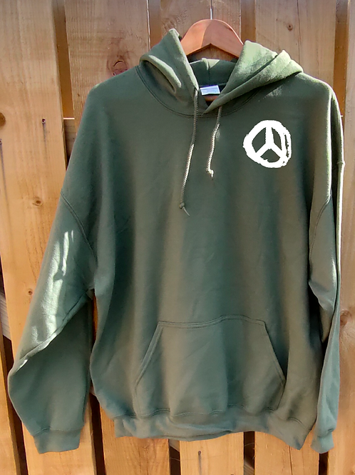 Peace Hoody Front