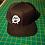 Anarchy Snapback Baseball Hat black