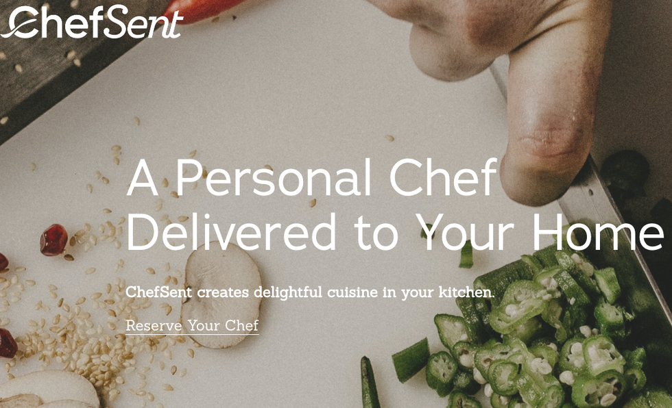 ChefSent is a web-based service platform that connects people to private chefs in the Atlanta area. We increased organic search traffic by 63% by optimizing the web copy. We also increased their email conversion rate by 34%.