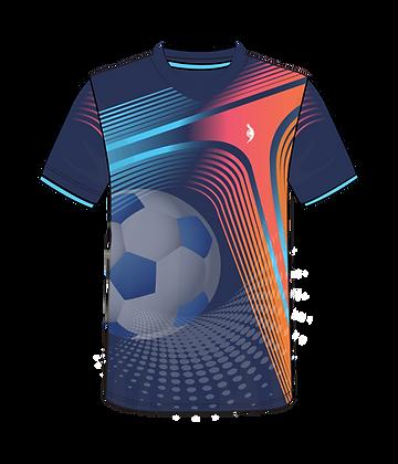 Personalised Full Colour V-Neck T-Shirt