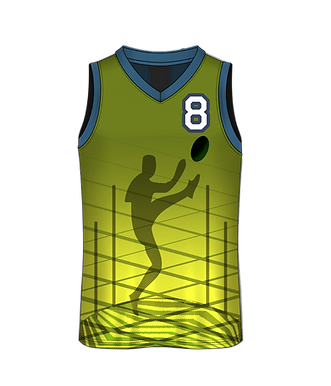 Personalised Full Colour Sports Singlet