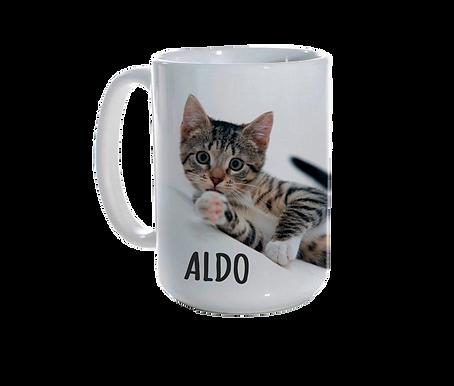 Personalised Ceramic Mug (15oz)
