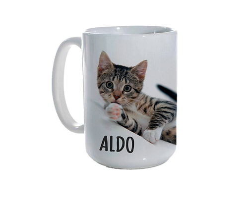 Personalised Ceramic Mug (15oz)