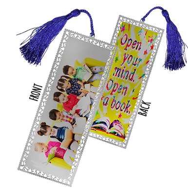 Personalised Metal Bookmarks (1-100 units)